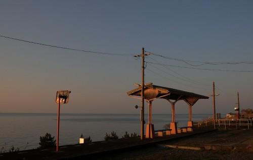 夕陽の駅 『下灘』