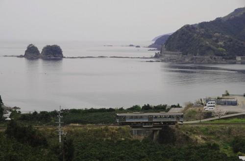 土佐新荘駅~安和駅 4751D 窪川行き