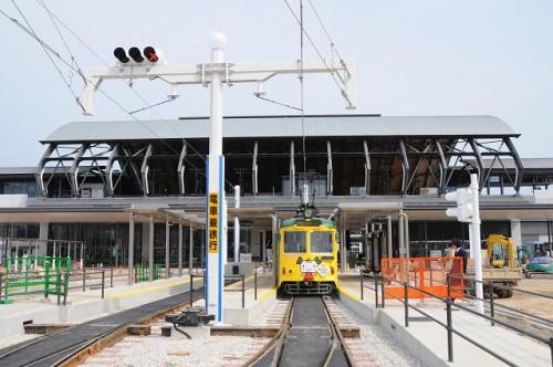 JR高知駅前 まだ工事中でした。