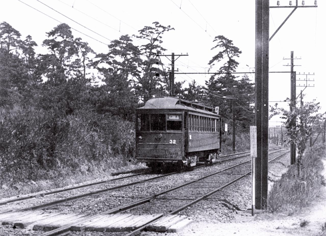 山陽電気鉄道203 米手作市氏からのお名指しは身に余る光栄といいたいが... 須磨が電車を?