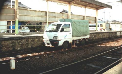 軽トラ改造のモーターカー