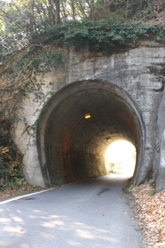 道路として使われているトンネル