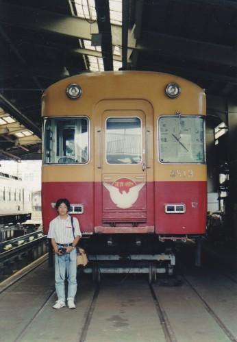 左端のイケメンは山科から参加の京阪特急メイト