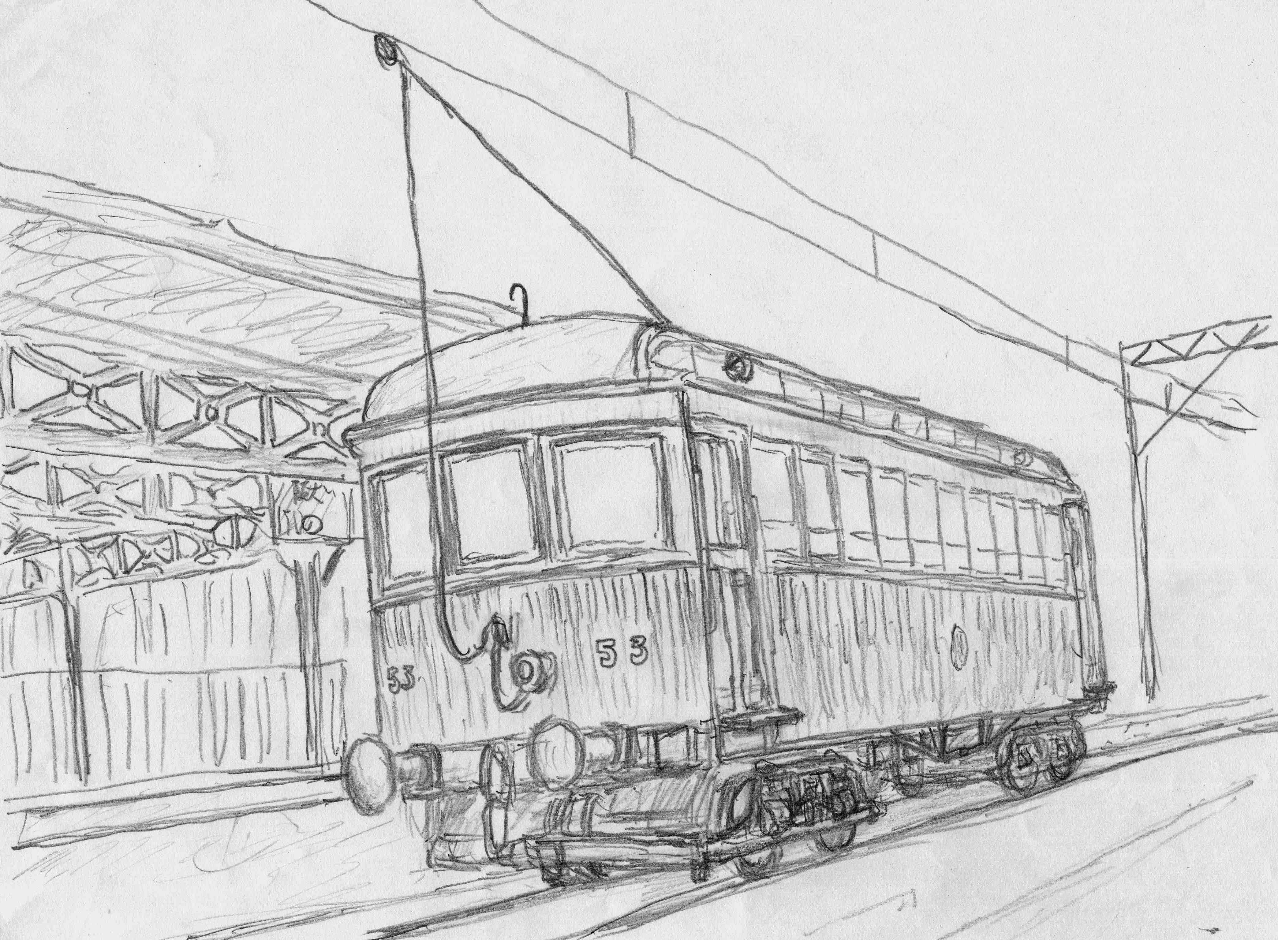 デハ53号電車