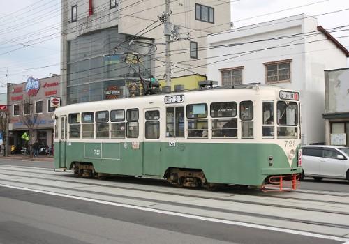 函館市電/2013.7.28/Posted by/893-2