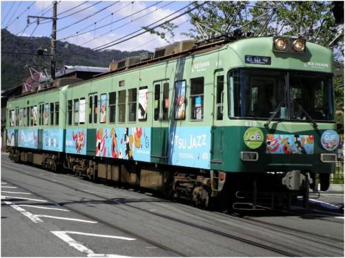 2012ラッピング電車