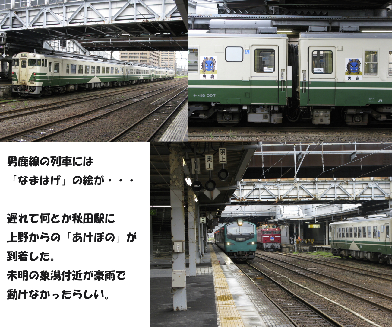 秋田駅にてその1-L