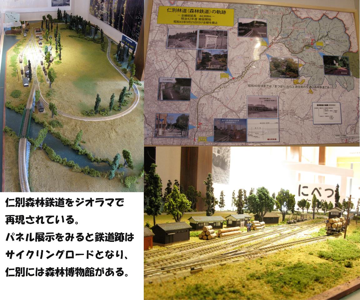 仁別森林鉄道その1