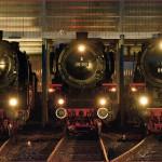 2014年 ドイツ、メルヘン鉄道の旅 Part10 ドイツ蒸機祭〝ダンプスペクタクル2014″  Dampfspektakel 第3日目 01型蒸気機関車