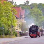 2014年 ドイツ、メルヘン鉄道の旅 Part22 モリー鉄道からリューゲン軽便鉄道へ