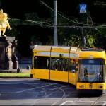 2014年 ドイツ、メルヘン鉄道の旅 Part28  ドレスデンのトラム