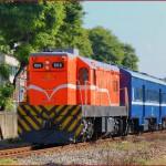 2014年 絶景の台湾鉄路 夏の旅 Part6 高雄機廠(高雄工場)の職員輸送列車、高雄環状軽軌(LRT)
