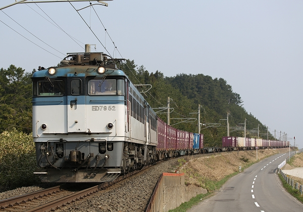 運用消滅JR貨物のED79/2015.06.20/Posted by 893-2