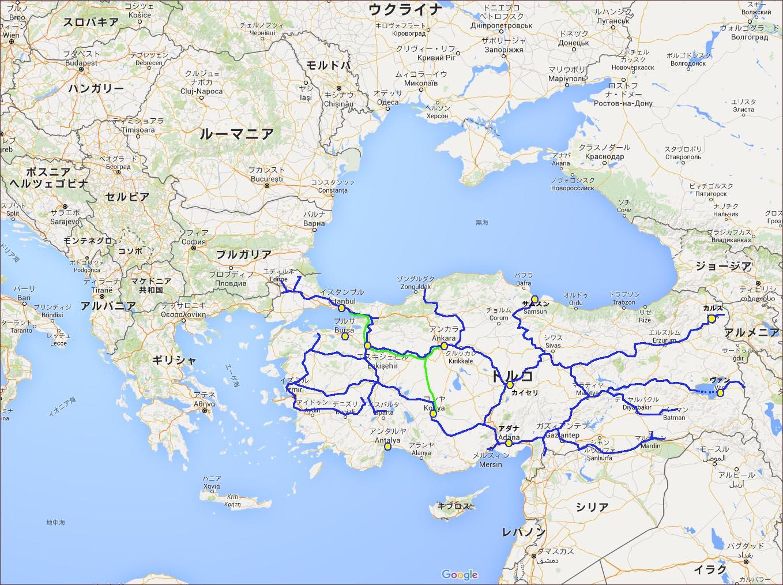 01_トルコ鉄道Map