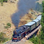2015年 西方見聞録 トルコ鉄路の旅 Part13 トルコ現存唯一の蒸気機関車、56548号機を撮る