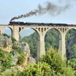 2015年 西方見聞録 トルコ鉄路の旅 Part16 トルコ現存唯一の蒸気機関車、56548号機を撮るⅣ 屈指の撮影地  Varda Viaduct Köprüsü(バルダヴァイダクト橋)