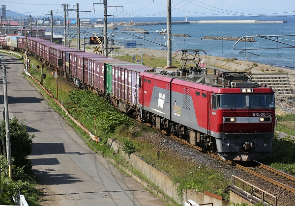 津軽海峡線から引退するEH500/2016.01.10/Posted by 893-2
