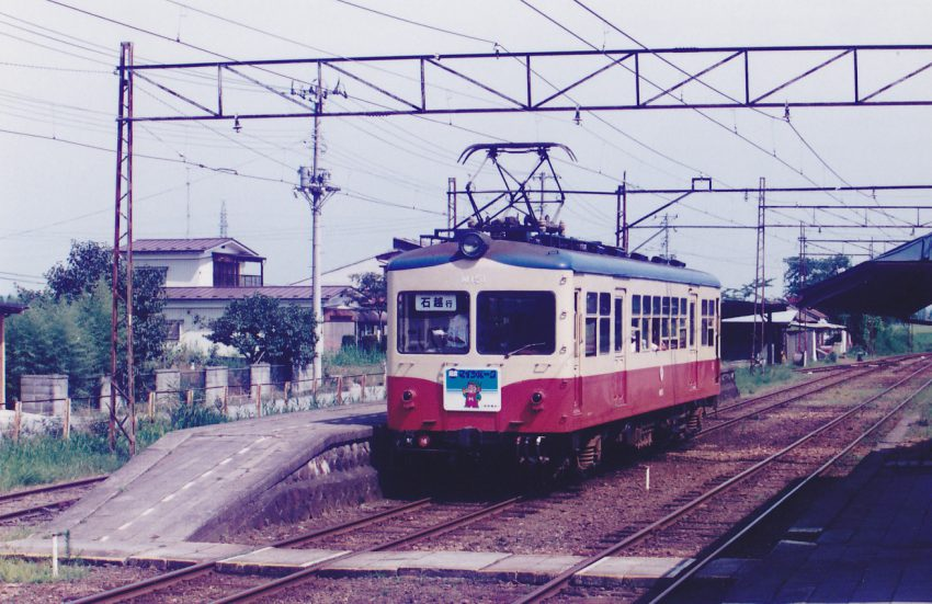 この日の交換駅は沢辺の1ッ箇所であった。列車数は半減していた