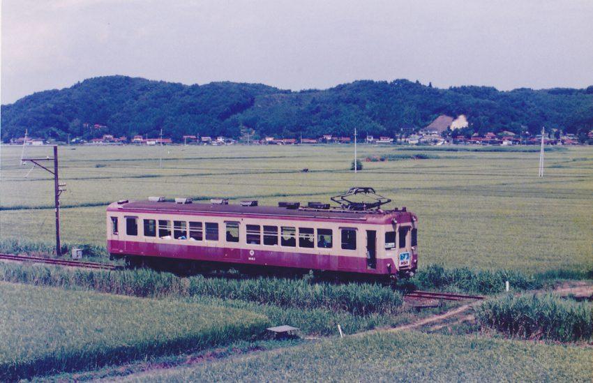 元福島電鉄の2両は元東急車で1500V車のため、はお祓い箱となった