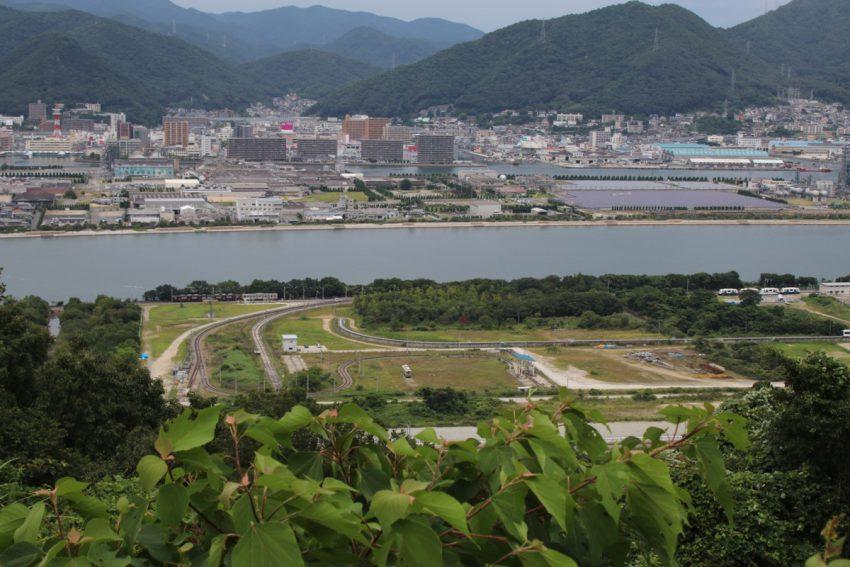 平成28年7月25日 三菱重工三原 和田沖工場試運転線風景