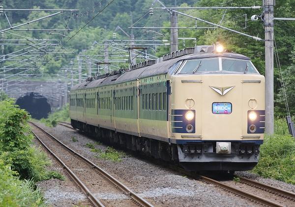 特急 583系青函DC号/2016.07.19/Posted by 893-2