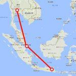 八月だ、もっと熱くなろう!2016年 赤道直下のインドネシアSL撮影の旅 Part13 スラバヤの線路際の市場、スラバヤ⇒バンコク移動