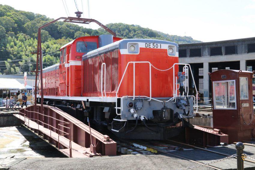 出遅れた悲運の機関車DE501