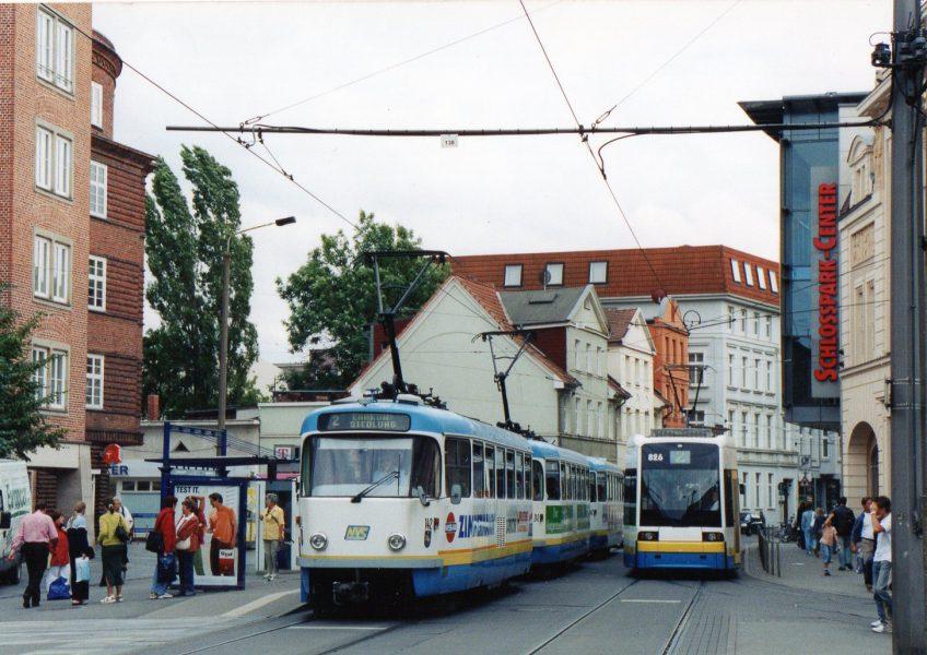シュベリン 人口124,000、ゲージ1435粍 T3D, 1977年導入