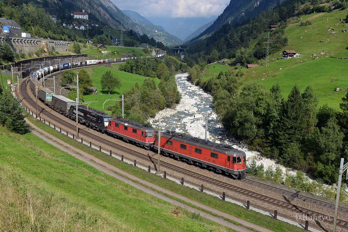 スイス国鉄Ee922形電気機関車