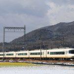 近鉄大阪線の雪