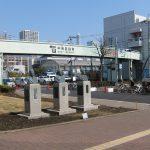 元米坂線39685号関連の展示コーナー