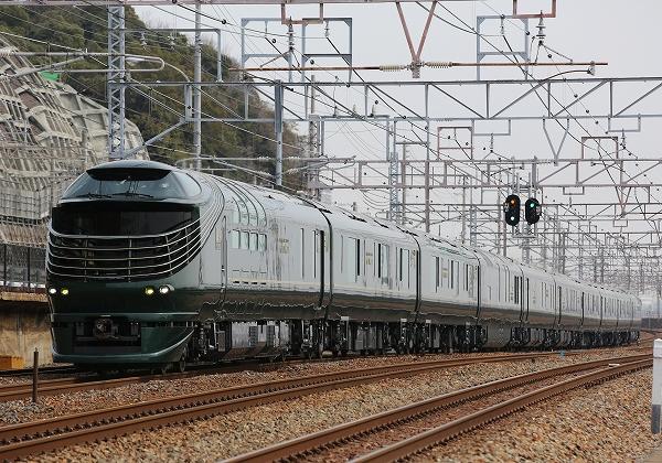 トワイライトエクスプレス瑞風運行開始/2017.07.01/Posted by 893-2