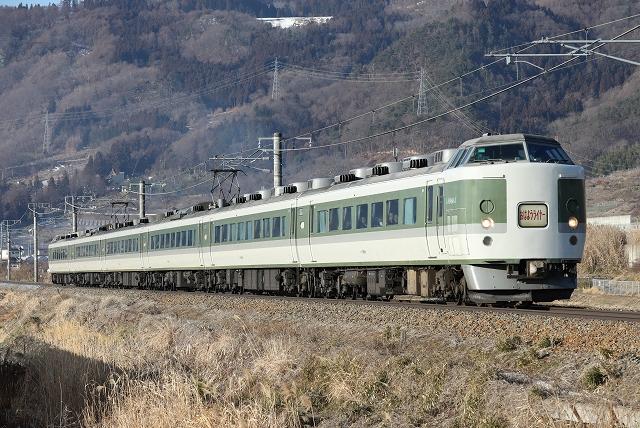 最後の189系定期列車おはようライナー/2019.3.10/Posted by 893-2